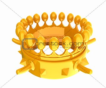 Crown for a Royal King Cartoon