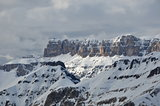Gruppo Cella Mountains, Cella Ronda, Dolomites, Alps, Italy