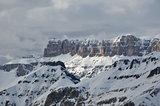Gruppo Cella Mountains, Cella Ronda, Dolomites, Alps, Italy