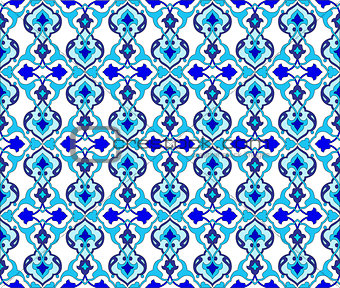 background with seamless pattern ten