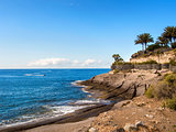 Picturesque El Duque beach inTenerife. Canary islands, Spain