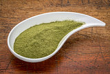 wheatgrass supplement powder