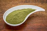 wheatgrass supplement powder