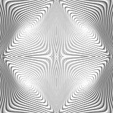Design monochrome whirl circular motion background
