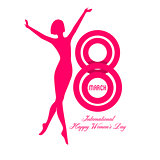 Happy Women Day background