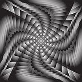 Design monochrome twirl movement background