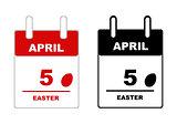 Easter calendar