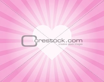 Abstract background with heart theme 1
