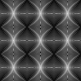Design seamless monochrome whirl lines background