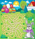 Maze 4 with Easter theme