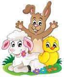 Spring animals theme image 1