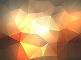 Abstract poly background