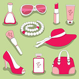 women's glamour stuff set