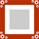 Flower Shape Photograph Frame