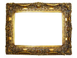 Ornate Gold Photo Frame