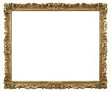 Retro Gold Photograph Frame