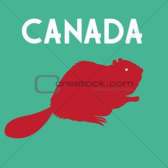 beaver symbol of Canada