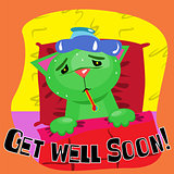 Get well soon card