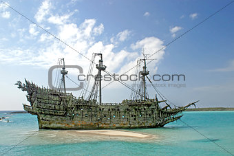 Caribbean Pirate Ship