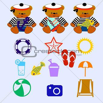 1214_3 bear set