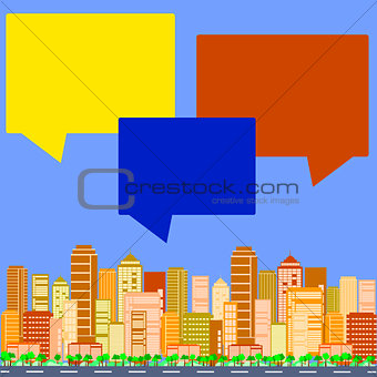 City talks buildings