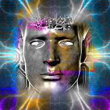 Cyborg's head