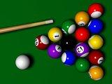 Billiard scene