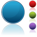 Round Button Icon Set