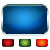 Tech Button Icon Set