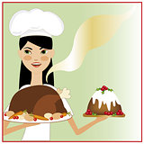 Christmas dinner chef