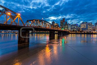 Bridge to Portland Downtown