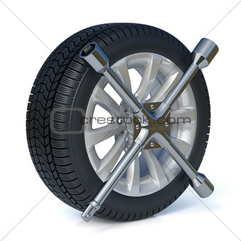 Tires replacement concept