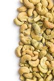 cashew nuts coated wasabi