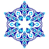 artistic ottoman pattern series seventy two