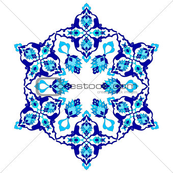 artistic ottoman pattern series seventy two