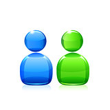 Chat icon. Vector