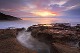 Sunrise Coalcliff NSW Australia