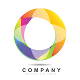 Circle logo icon