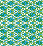 Geometric symmetric lined seamless pattern, colorful vector endl