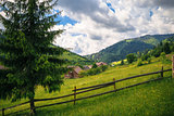 rural beauty in the Carpathians