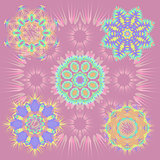 Round Patterns Vector Illustration