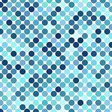 Background of Blue Dots