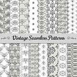 Hand Drawn Vintage Seamless Patterns