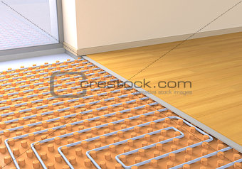 floor heating system