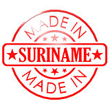 Made in Suriname red seal
