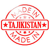 Made in Tajikistan red seal
