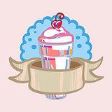 Fresh milkshake