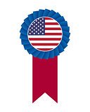 4th of July rosette