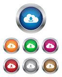 Download from cloud buttons
