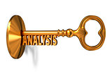 Analysis - Golden Key is Inserted into the Keyhole.